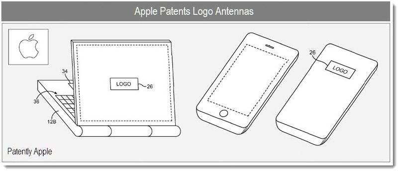 Apple Invents New Kind of Logo Antenna for Portables