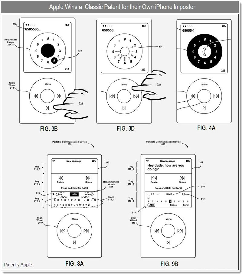 Apple Wins Patent for their Great Faked-Out Rotary Dial
