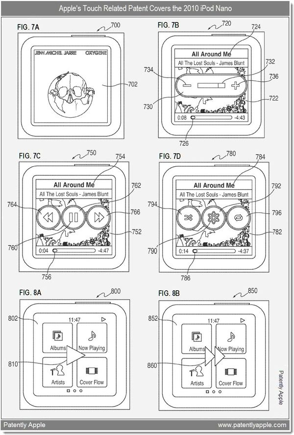 Patent Fulfilled: Apple's Touch-Centric iPod Nano Patent