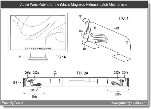 Apple Wins Patents for the iMac, Magnetic Detents & Even