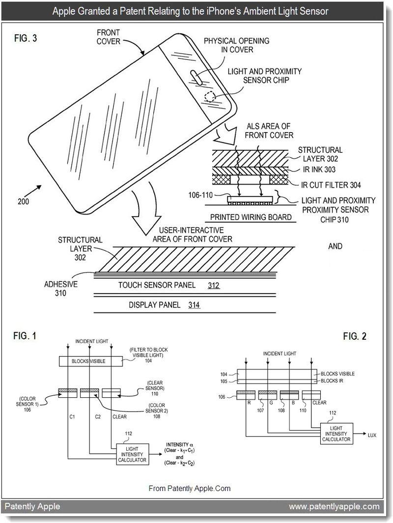 Apple Wins iPhone Ambient Light Sensor, Time Machine