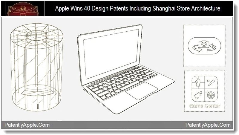 China Grants Apple 40 New Design Patents Covering All