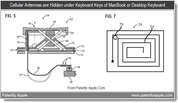 Apple Wins Major Patent for Integrating Cellular Antennas
