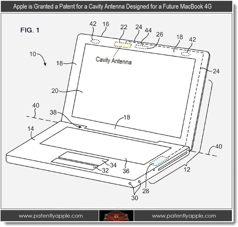 Apple Wins Patents for Future MacBook 4G Antenna, Touch