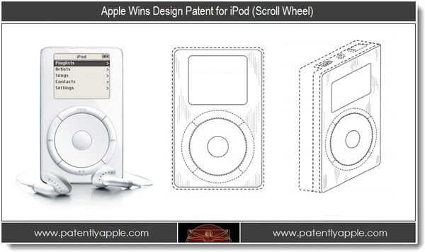 Apple Wins Major iPod User Interface & Systems Patents