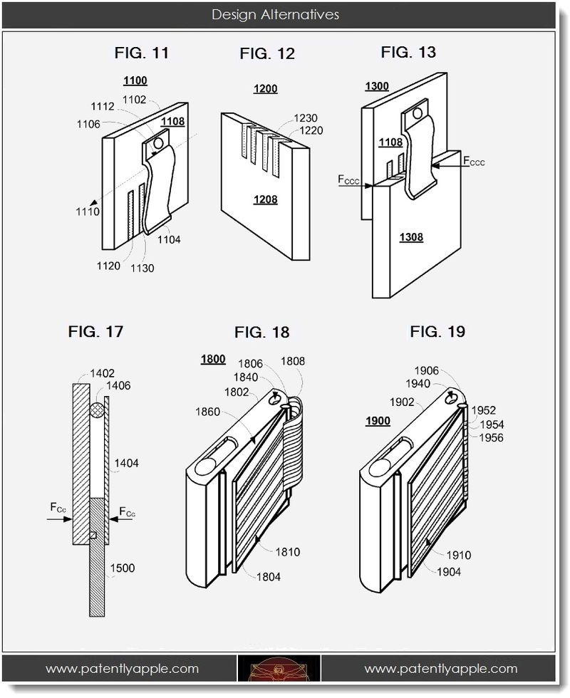 Apple Invents New iDevice Power Clip & Docking Station