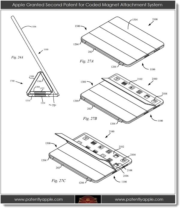 Apple Granted Smart Cover and Multi-Button Mouse Patents