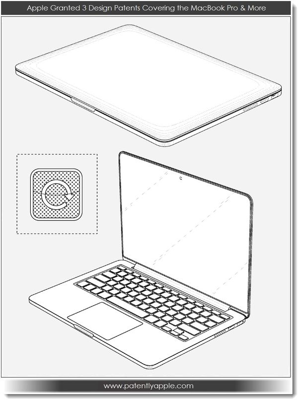 Apple Granted Patents for 3D Version of OS X & MacBook Pro