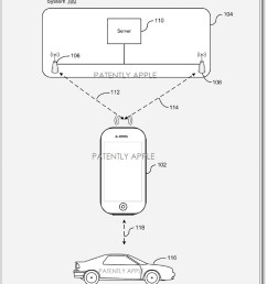 apple patent filing for locating a vehicle in a parking structure [ 861 x 1135 Pixel ]