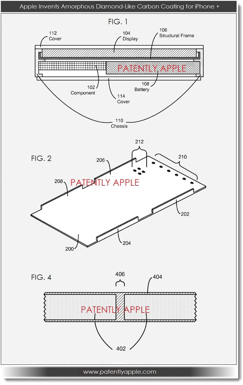 Apple Invents New Touch Pad Electrode Design & Diamond