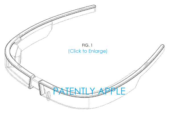 Google Glass Gets Redefined in new Granted Design Patent