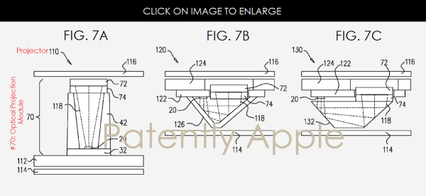 Apple Invents a Structured-Light Projector for Cameras