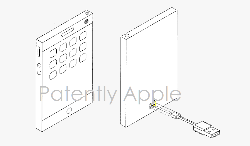Patent Illustrates Future iPhone having Backside Invisible