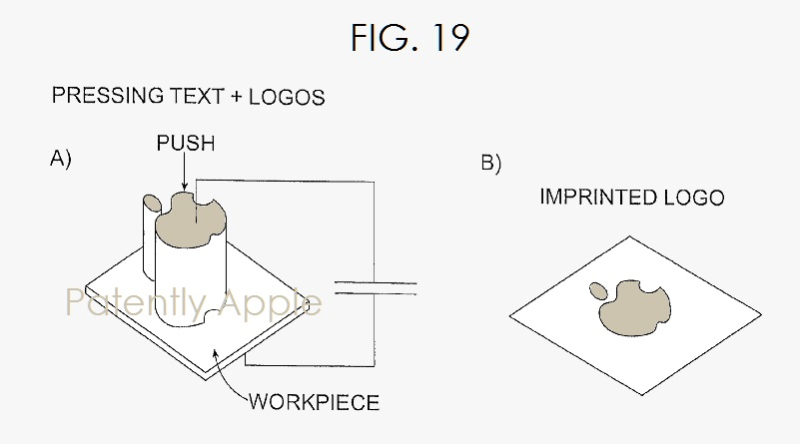 Apple Granted Liquid Metal Related Patent for Embossed