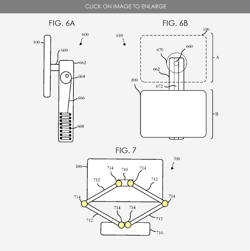 Apple Invents a Counterbalanced iPad (Pro) Stand for Work