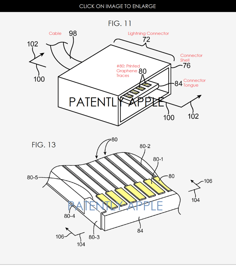 Apple Reveals Lightning Connectors with Graphene Signal