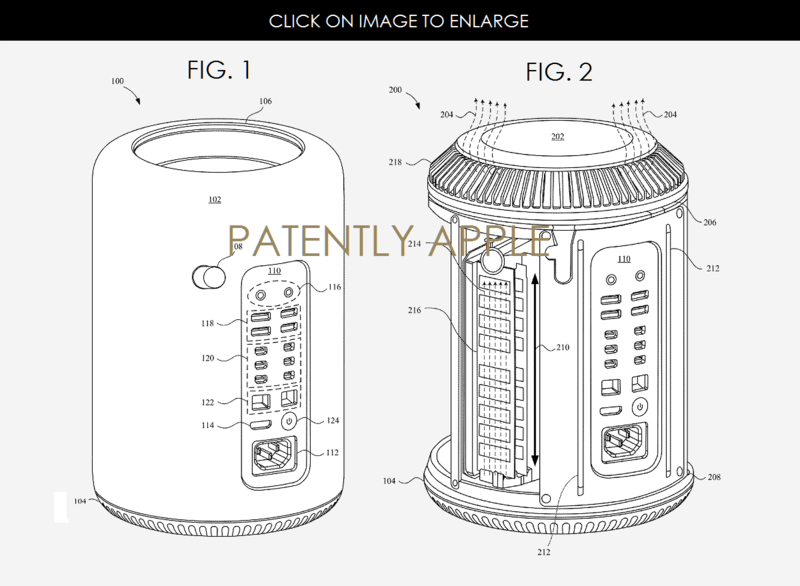 Apple Granted 66 Patents today covering the Mac Pro, 3D