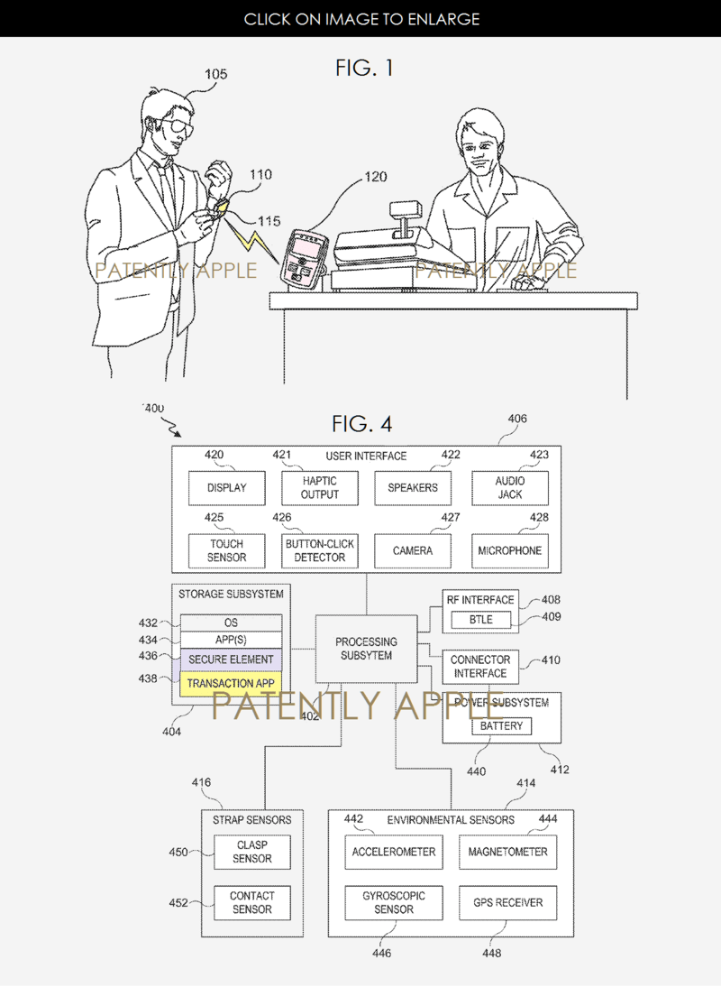 Last Week the US Patent Office Published 12 Apple Pay