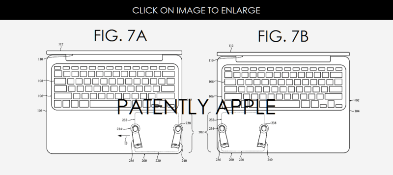 Apple Invents the Movable Illuminated MacBook Trackpad