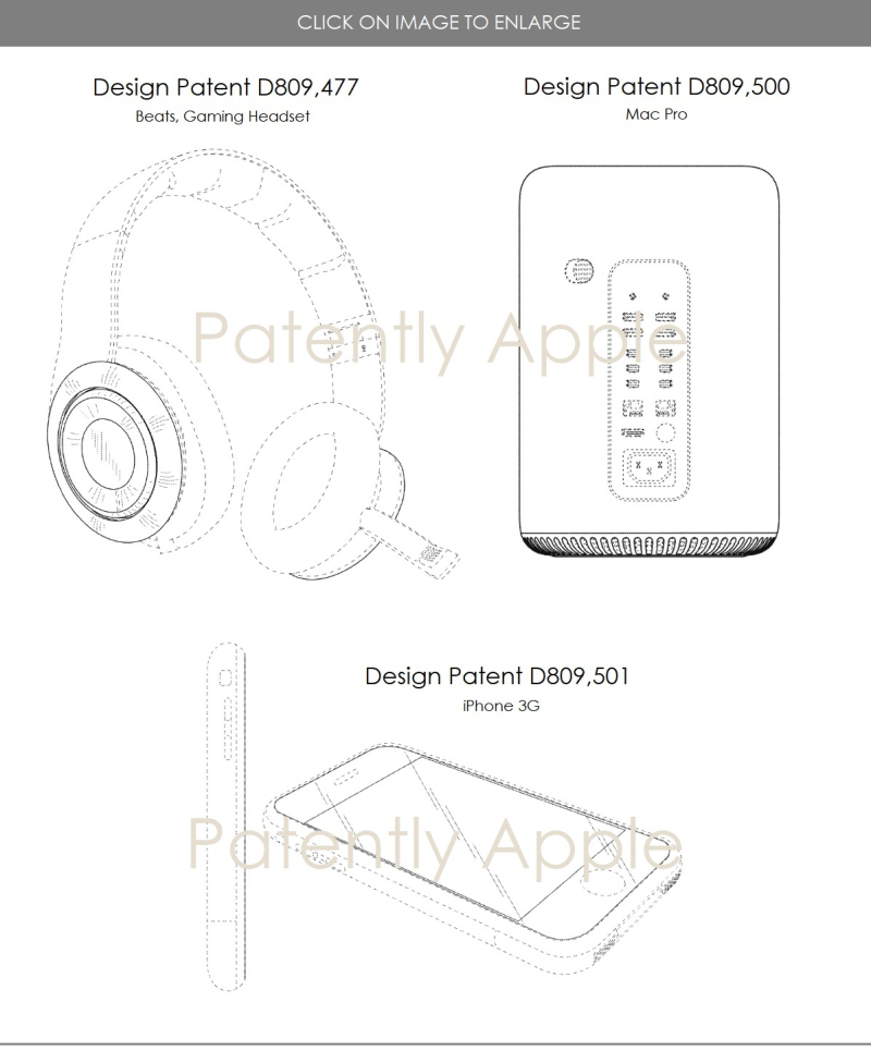 Apple Granted 16 Design Patents Covering the Mac Pro Tower