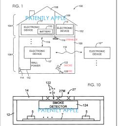 2af 2 smoke detector patent application [ 808 x 976 Pixel ]