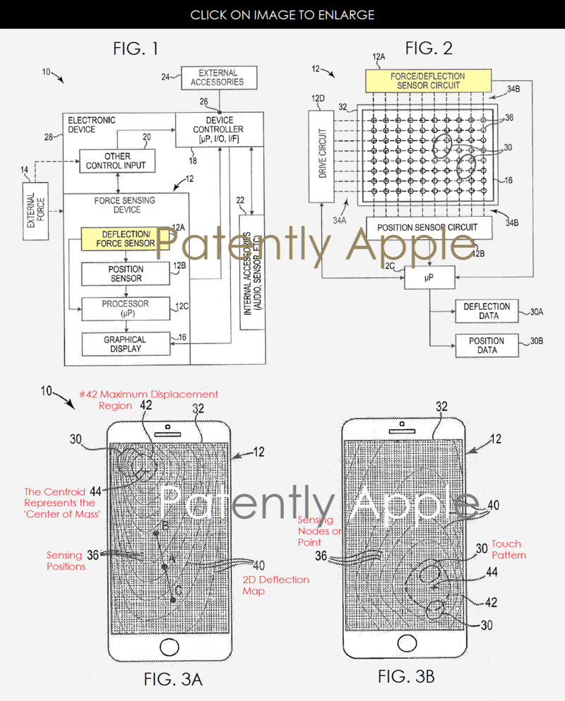 Apple Inventions Reveal Original 3D Touch System & Future