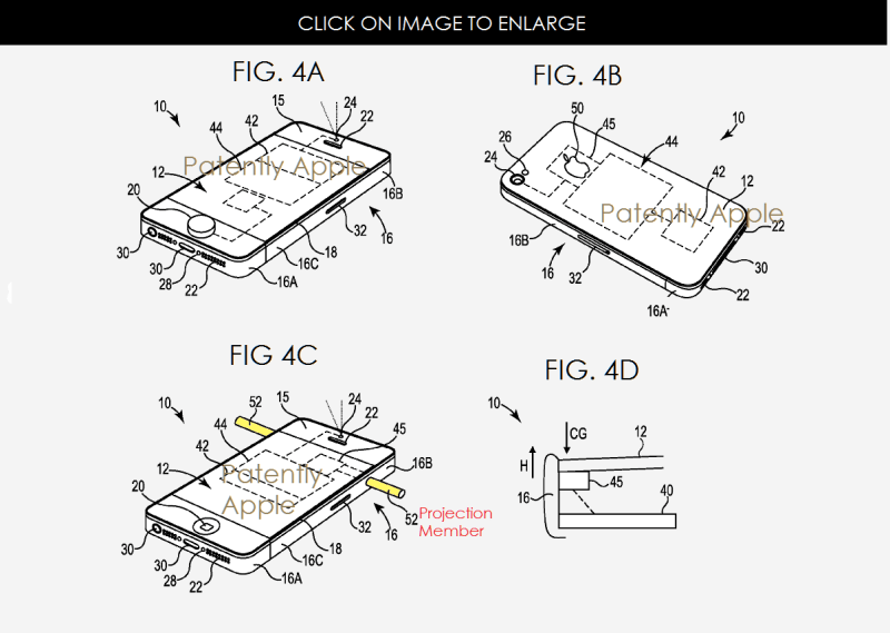 Apple Wins Patent for an iOS Device Drop Countermeasure