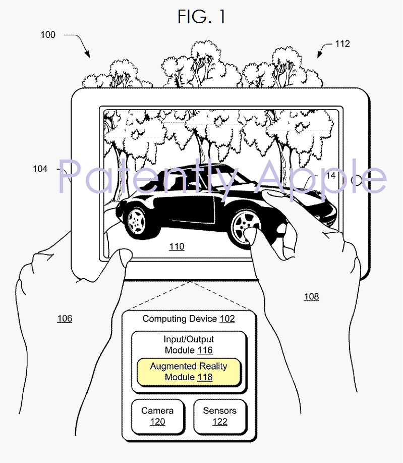 Microsoft is piling in Patent Filings for Augmented
