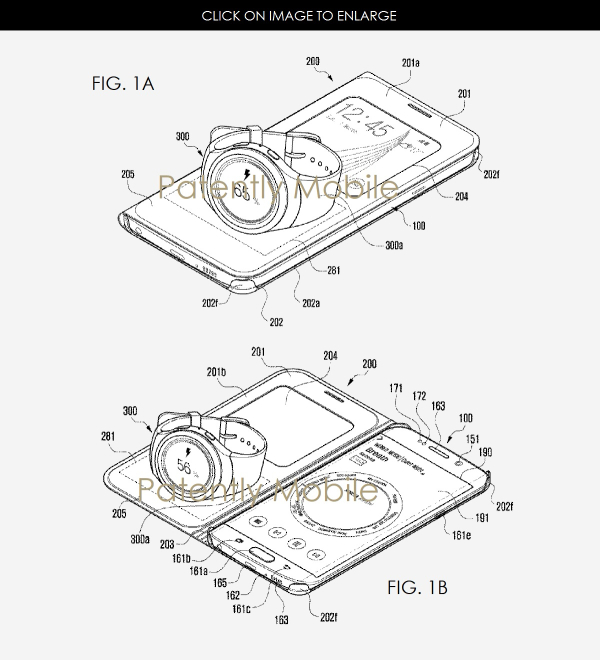 Samsung and Apple Patent Wireless Charging Smartphone