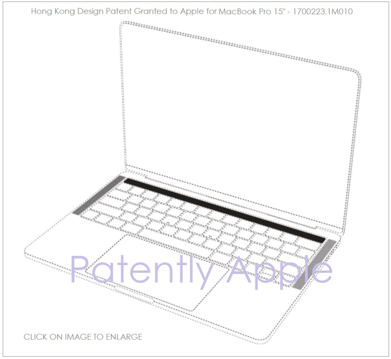Apple was Granted 10 MacBook Pro Design Patents in China