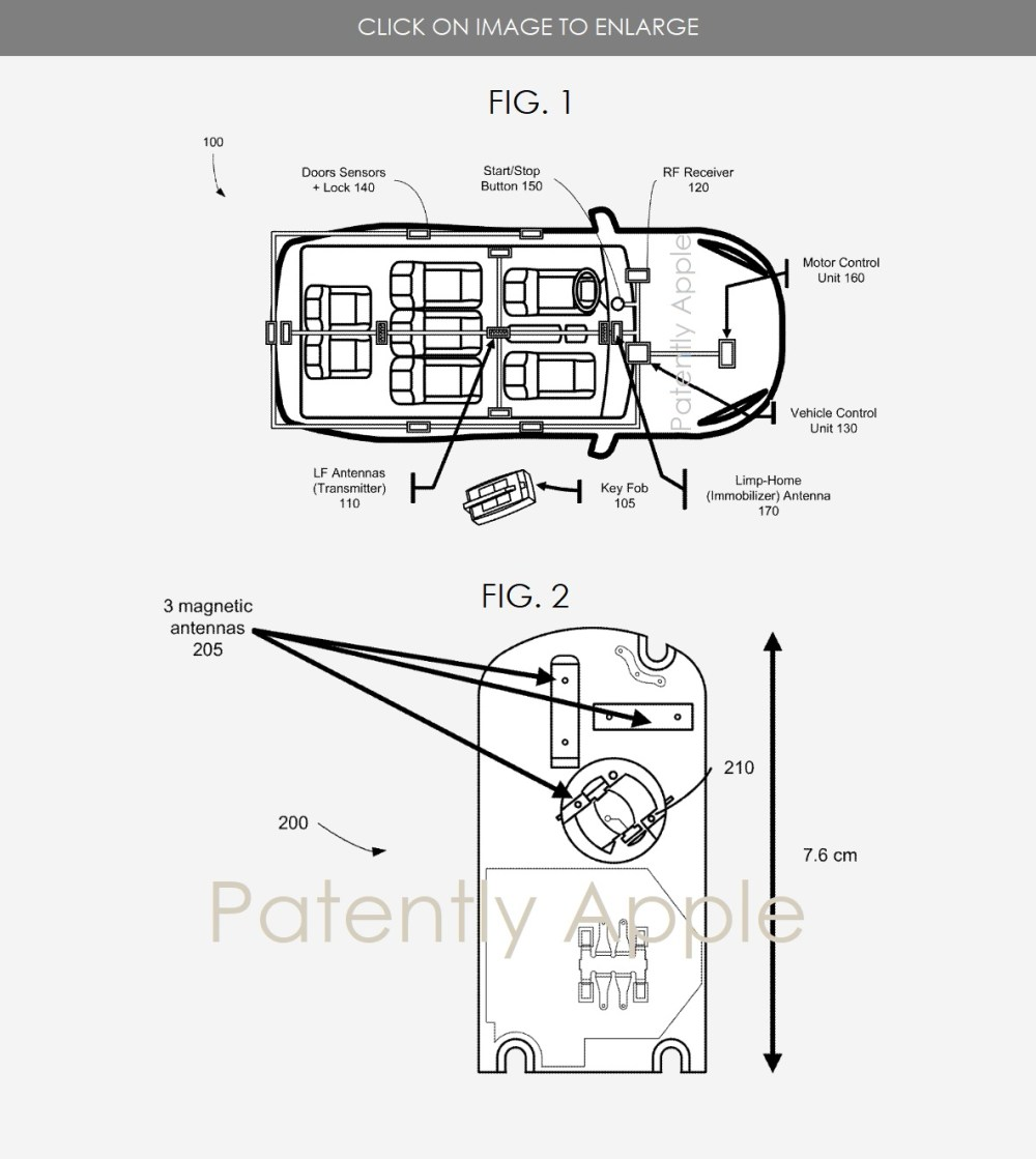 medium resolution of 2 apple car patent figs 1 2