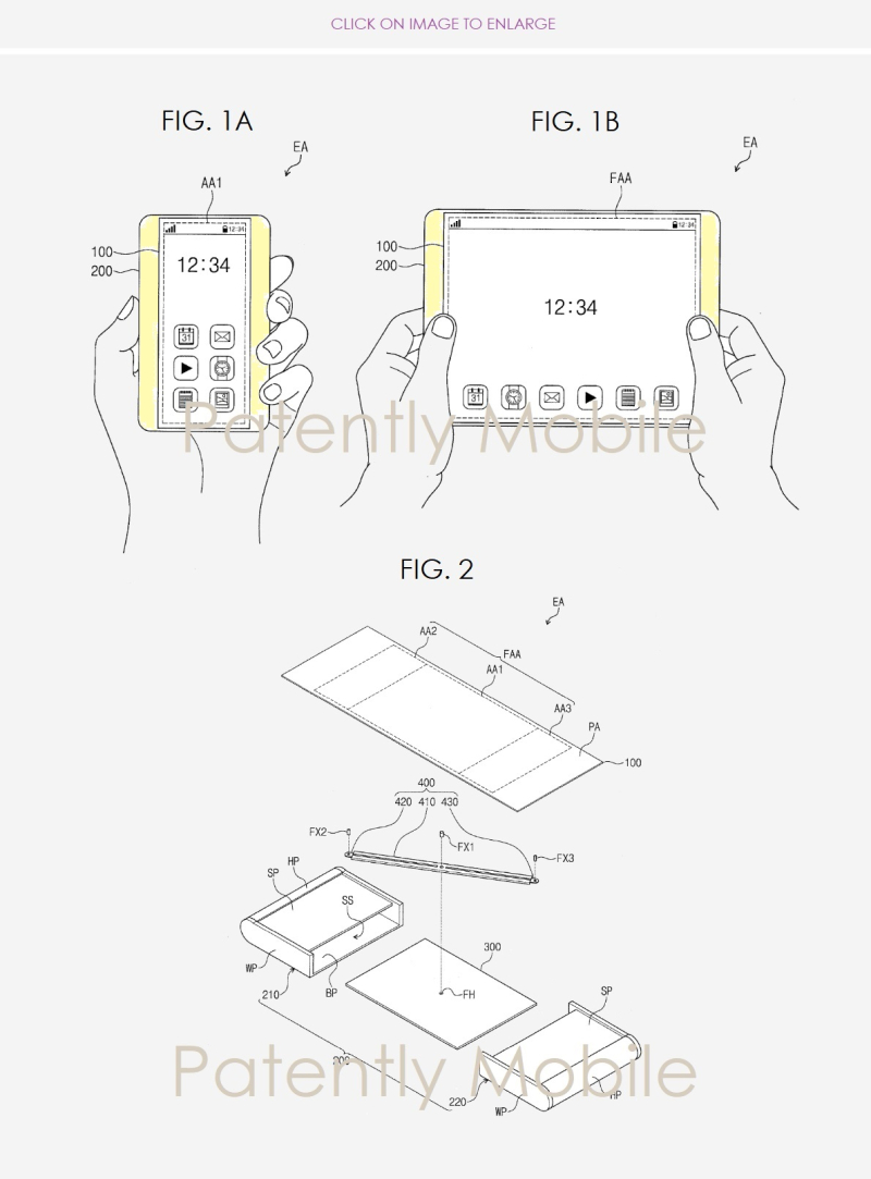 Samsung Invents a Smartphone with a Display that could be