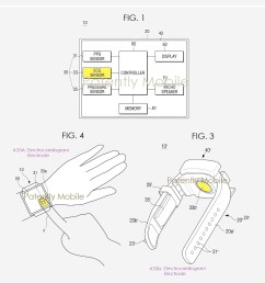 2 samsung ecg patent for gear watch feature [ 1201 x 1365 Pixel ]