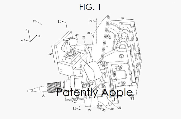 Apple Patents Published today point to an enhanced 3D
