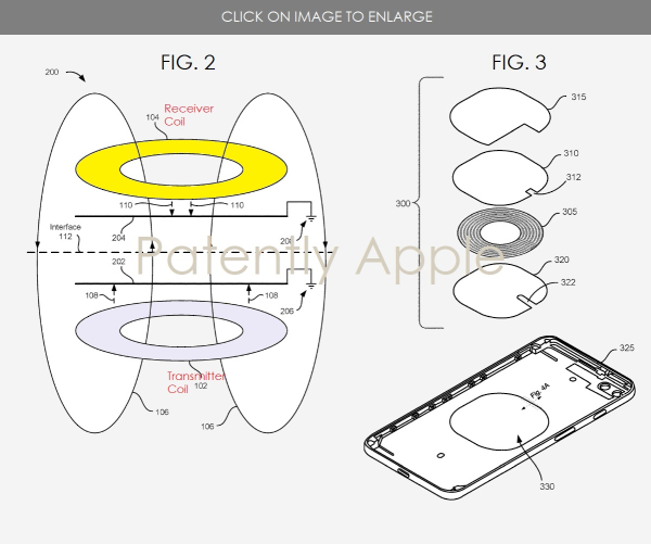 Apple Granted Patents for the iPhone's Wireless Charging