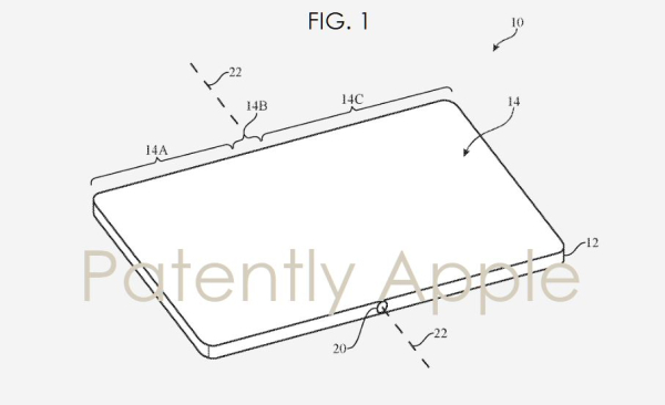 New Folding iPhone Invention describes a Heating Method to