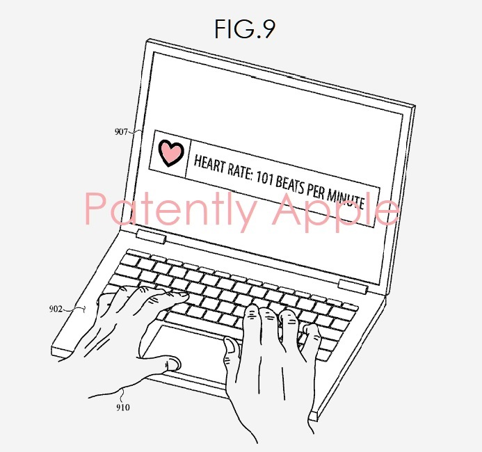 Apple Invents a MacBook with Biometric Sensors for Health