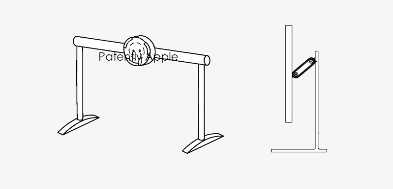 Apple Invents a Modular Desktop Display System & Stand for