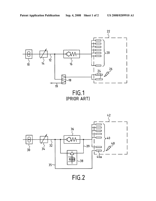 small resolution of method of starting a gas turbine helicopter engine a fuel feed circuit for such an engine and an engine having such a circuit diagram schematic