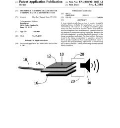 household plumbing leak detector utilizing water activated battery diagram schematic and image 01 [ 1024 x 1320 Pixel ]