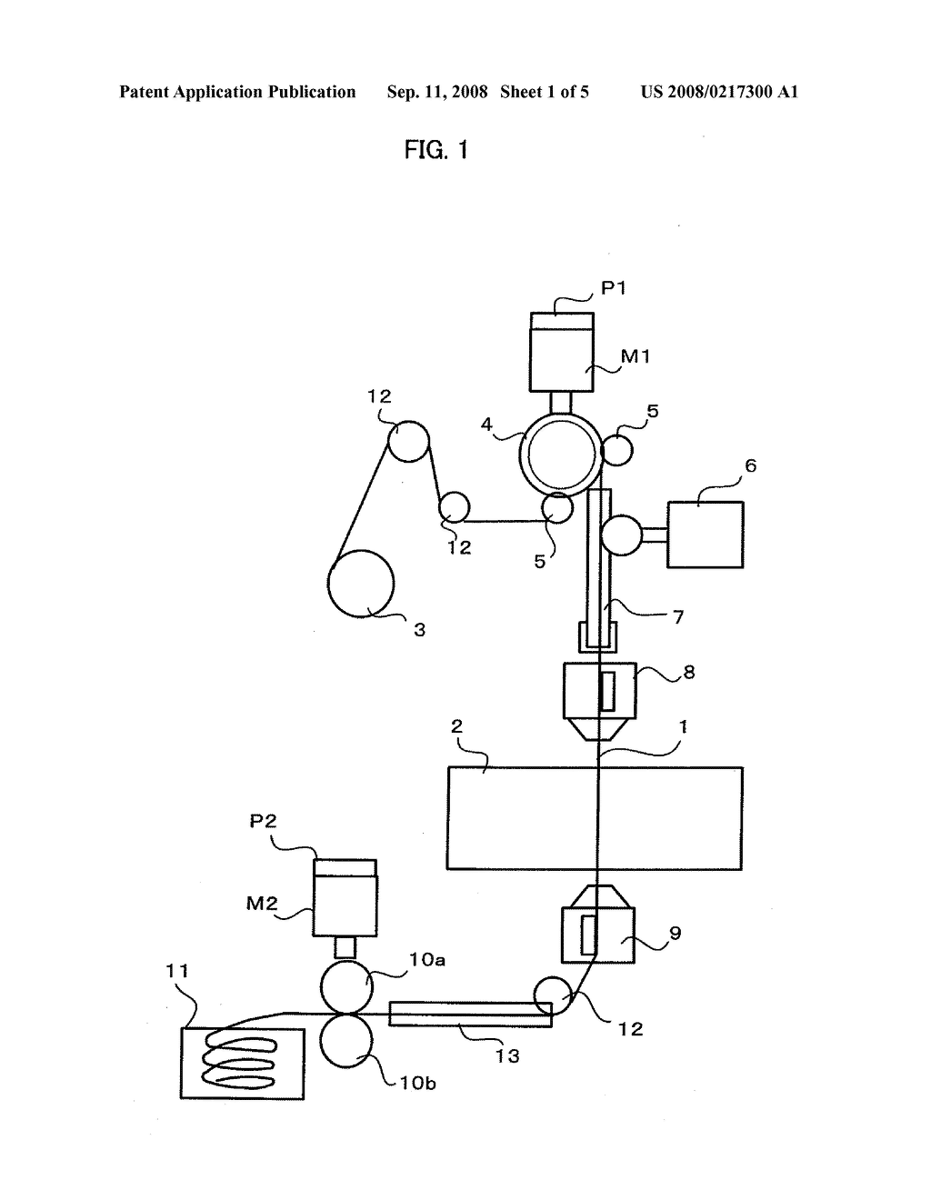 Wire cut electric discharge machine having wire tension control