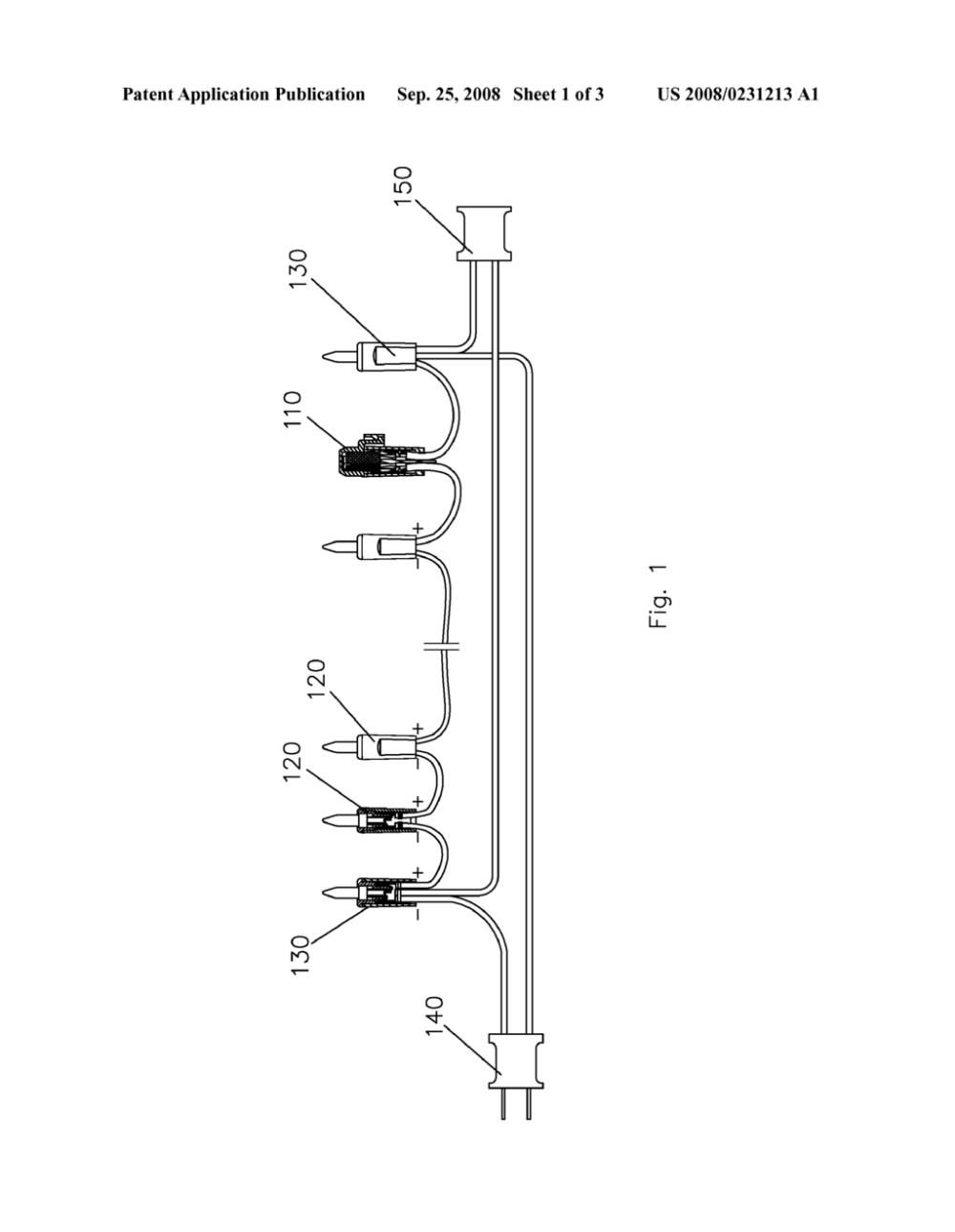 medium resolution of led string light part diagram