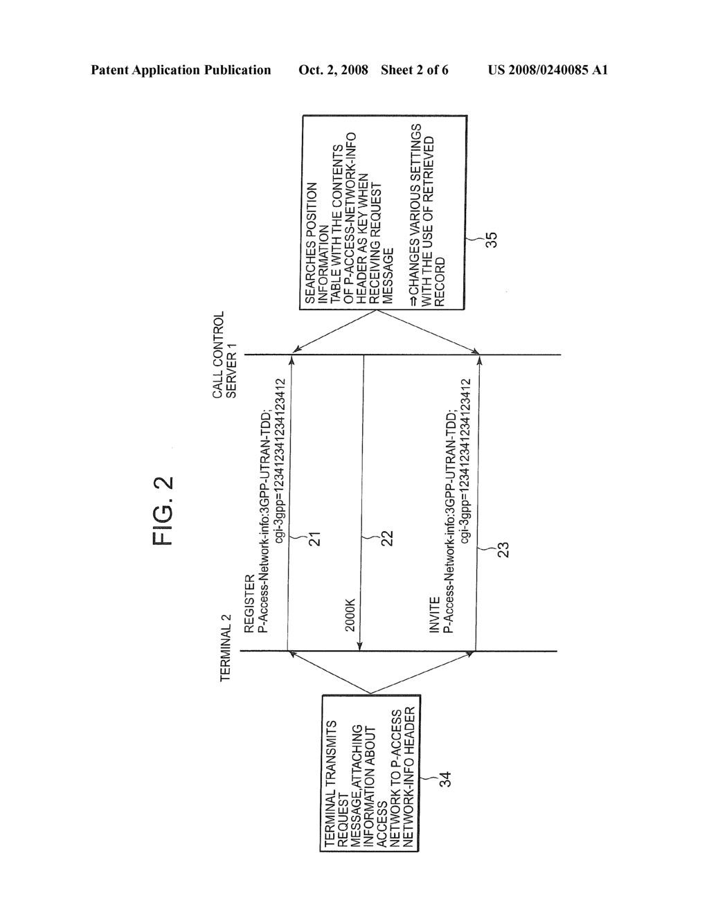 hight resolution of sip communication system call control server and call control method diagram schematic and image 03