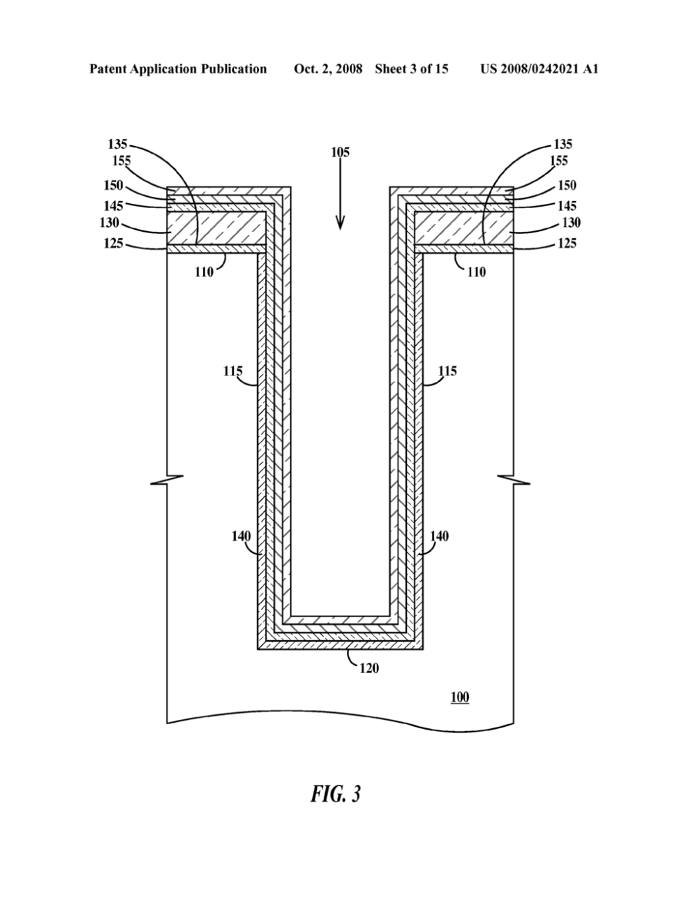 medium resolution of method of fabricating a bottle trench and a bottle trench capacitor diagram schematic and image 04