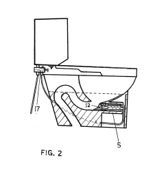 self plunging toilet and method of clearing a toilet diagram schematic and image 03 [ 1024 x 1320 Pixel ]