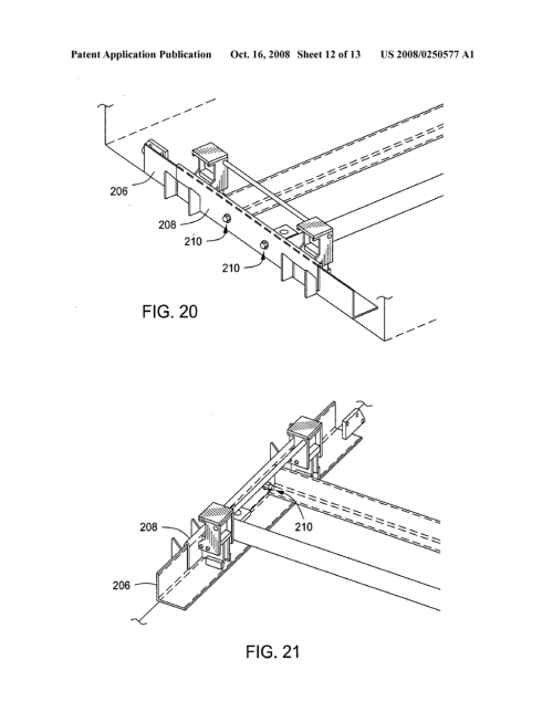 small resolution of shimless frame support method and apparatus for dock levelers diagram schematic and image 13
