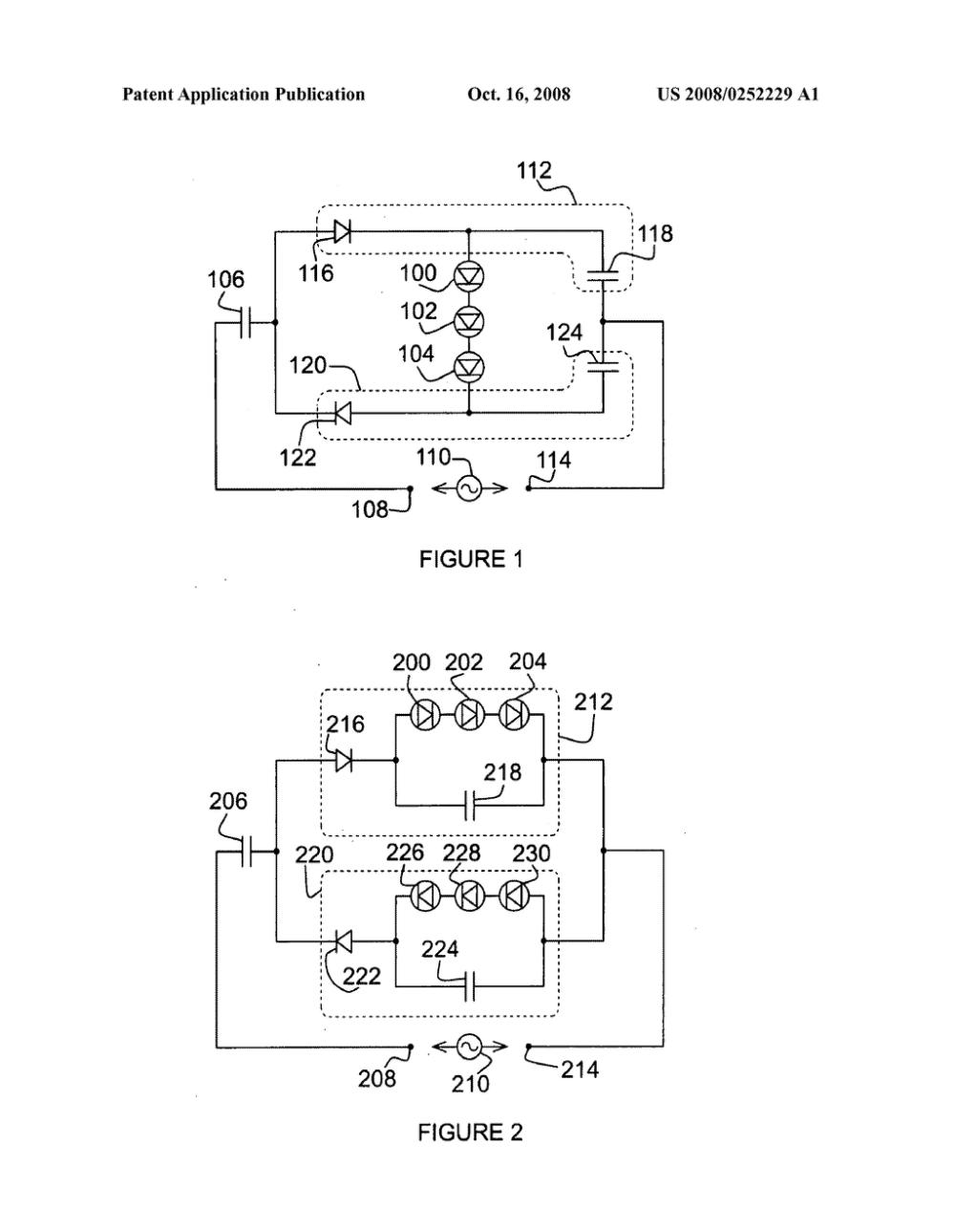 medium resolution of led ac circuit diagram
