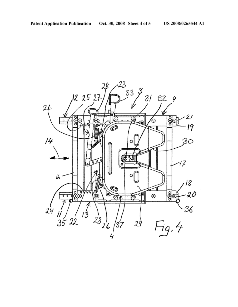 medium resolution of fifth wheel assembly for coupling a trailer to a truck tractor and a method for operating said assembly diagram schematic and image 05