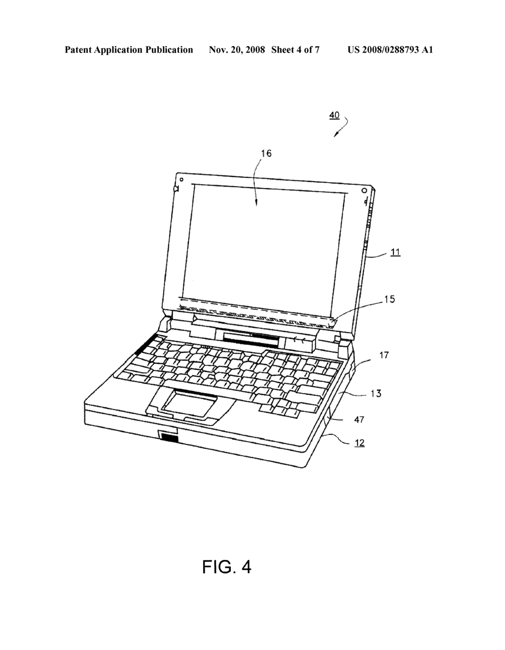 Computer Laptop Diagram