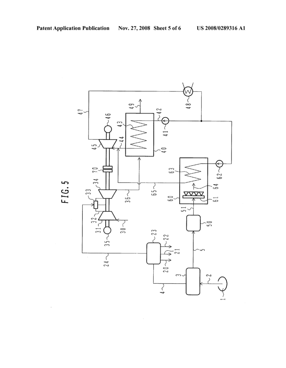 medium resolution of combined cycle power plant and steam thermal power plant diagram schematic and image 06